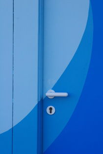 Blue door by Intensivelight Panorama-Edition