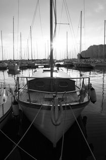 Sailing yacht - monochrome von Intensivelight Panorama-Edition