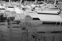 Yacht harbor in Sistiana - monochrome by Intensivelight Panorama-Edition