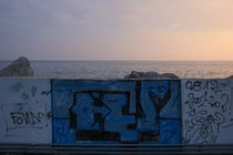 Graffiti at the sea von Intensivelight Panorama-Edition