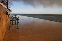 Bench at the sea von Intensivelight Panorama-Edition