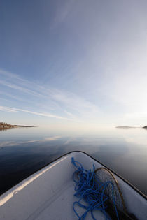 Rowing boat on a bay by Intensivelight Panorama-Edition