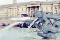 Trafalgar Square Fountain von kaotix