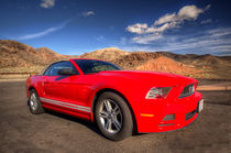 Red Mustang by Rob Hawkins