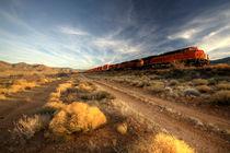 Westbound Freight  von Rob Hawkins