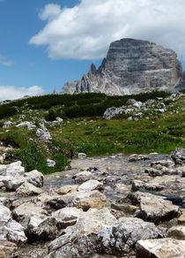 Refreshing Mountain Stream von anny