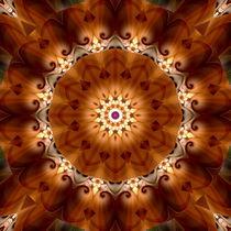 Mandala Floral von Christine Bässler