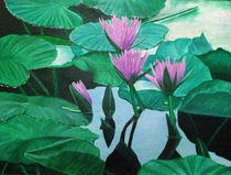 My Lily Pond by Carlos Cisneros