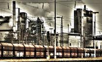 Industrielandschaft  von Barbara  Keichel