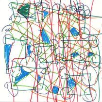 Die TwitterMaschine (Hommage an Paul Klee) by Wolfgang Wende