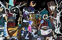 AsSurDa ReaLTa – Venedig Kunst Collage der Wirtschafftskrise in Italien by nacasona