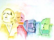 Mount Rushmore von Sigurd Schönherr