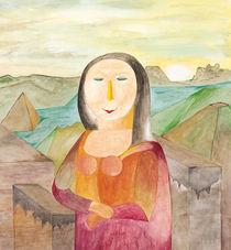 Mona Lisa by Sigurd Schönherr