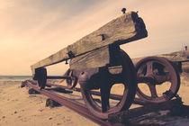 Alter Bootswagen von dresdner