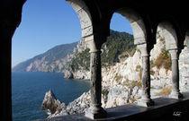 Blick auf die Ligurische Küste bei Portovenere von Udo Seltmann