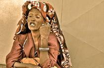 Äthiopische Frau von Jacqueline Kolesch