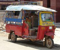 Tuk Tuk in Laos by reisemonster
