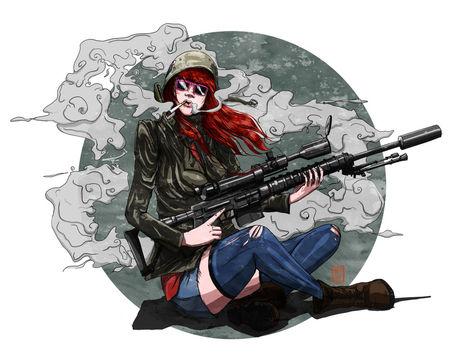 Tank-girl