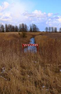 Schild im Vorland - Sign in the foreland von ropo13