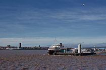 Ferry across the Mersey, Liverpool, UK von illu