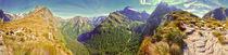 Mackinnon pass panorama von Chris R. Hasenbichler