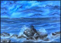 Kormoran am Ostsee von Eva Borowski