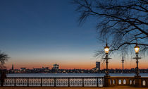 Sundown Alster (Hamburg, Germany) by Arkadius Ozimek