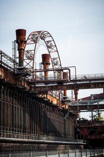 Riesenrad Zeche Zollverein von pixelkoboldphotography