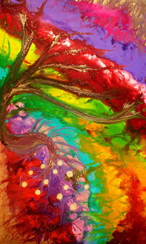 Colorful Abstract  von Julia Fine Art