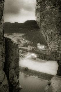 Elbsandsteingebirge von Marcus A. Hubert