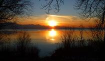 Sonnenuntergang am Chiemsee von Thomas Heim
