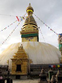 Gompa in Kathmandu von reisemonster