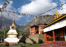 Gompa in Muktinath by reisemonster