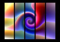 Grafisches Farbenspiel  by Eckhard Röder
