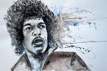 Jimi Hendrix von Ismeta  Gruenwald