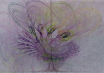 Fantasieweltenbaum von Franziska Rullert