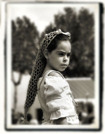 Peasant girl von Brian Grady