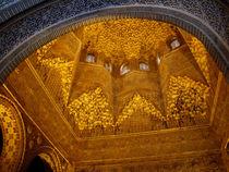 Architectural detail - The Alhambra 1 von Brian Grady