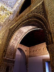 Architectural detail - The Alhambra 2 von Brian Grady