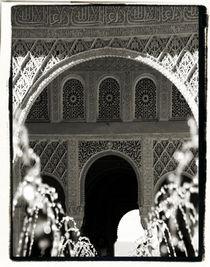 Archway and Water - The Alhambra, Granada von Brian Grady