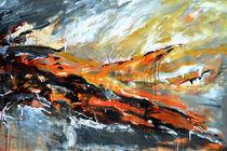 Brennender Himmel by Ismeta  Gruenwald