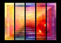 Grafisches Farbenspiel  von Eckhard Röder