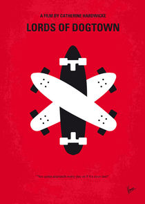 No188 My The Lords Of Dogtown minimal movie poster von chungkong