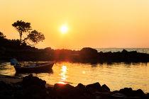 Relax Beach sunset 8 von Kristiina  Hillerström