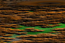 Fraktale Moorlandschaft grün von dalmore