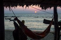 Sunset hammock by Kristiina  Hillerström