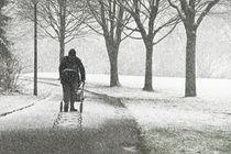 Spuren die man hinterlässt  by Barbara  Keichel