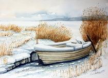 Boot im Schnee von Inez Eckenbach-Henning