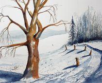 Schneelandschaft von Inez Eckenbach-Henning