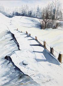 Winter in Tirol von Inez Eckenbach-Henning
